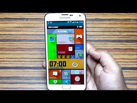#20 Top Launchers themes For Android- April, 2014 (galaxy S5) video