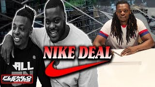 From Splitting Sandwiches with Ronald Ollie to Signing NIKE Deal! Last Chance U Trainer Justin Allen