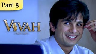 Download Vivah (HD) - 8/14 - Superhit Bollywood Blockbuster Romantic Hindi Movie - Shahid Kapoor & Amrita Rao 3Gp Mp4
