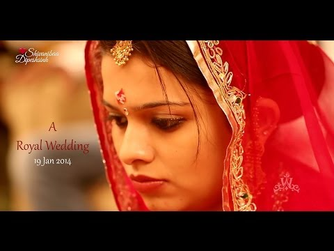 A Royal Wedding | Shivaniba ♥ Dipeshsinh | Best Gujarati Traditional Cinematic Teaser 1080 Hd video