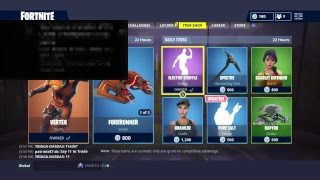 Fortnite battle royal buy new skin (flash) for my younger brother