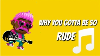 RUDE - PIXEL WORLDS MUSIC VIDEO