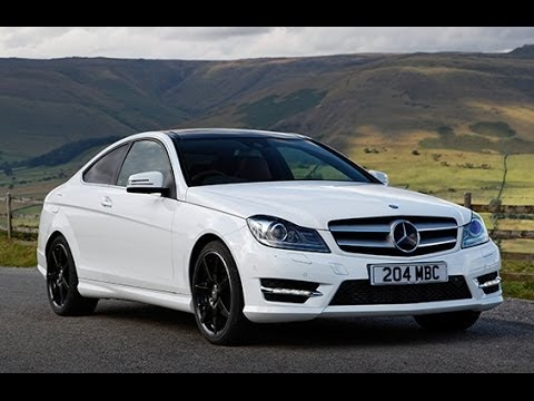 Mercedes C Class Coupe C250 Review Mercedesbenz Youtube