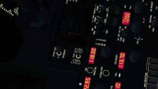 ILS  Boeing 737 ifly PANEL Wide Screen HD Vuelos Online ESCUELA DE VUELO VIRTUAL