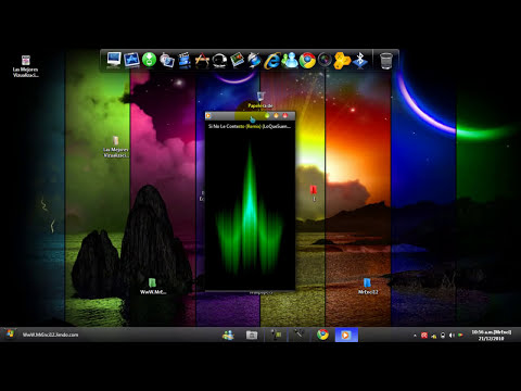 Descargar las 3 Mejores Visualizaciones Para tu Reproductor de windows Media Player