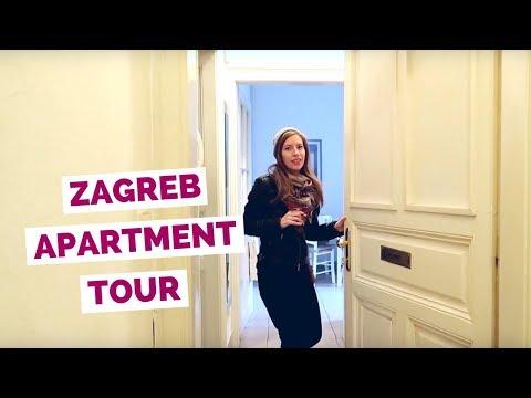 Zagreb Apartment Tour in Croatia