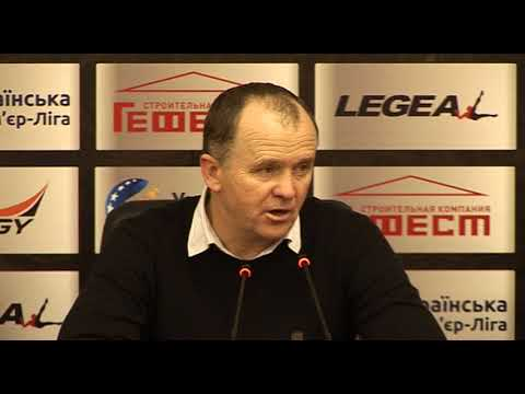 Черноморец Заря Пресс конференция О Дулуба
