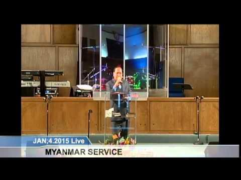 [FGATulsa]#1123#Jan 4,2015 Myanmar Service(Pastor Mung Tawng