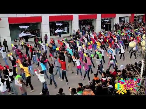 Be flash mob - Mongolian the biggest Flash mob