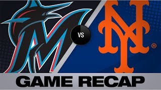 3-homer 7th propels Mets to comeback win | Marlins-Mets Game Highlights Game Highlights 8/5/19