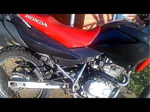 FOR SALE HONDA XR 125 L 2005 NEW FULL EXHAUST