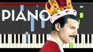Queen We Will Rock You Piano Tutorial Karaoke Midi Pixels Movie