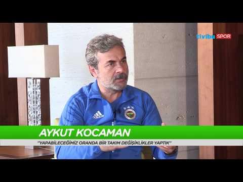 """Aykut Kocaman: """"Fenerbahçe'ye dönüşümde duyguların ağır bastığını söyleyebilirim."""""""