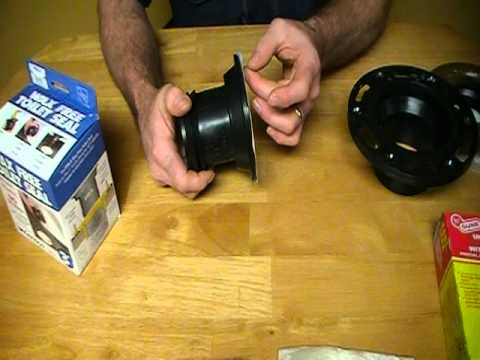 How to choose the right wax or neoprene seal for installing a toilet. Plumbing Tips!