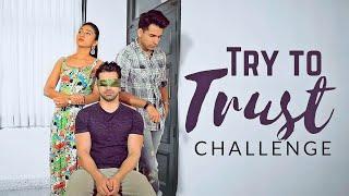 Try to TRUST Challenge | Rimorav Vlogs