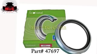 Chicago Rawhide/SKF Classic Wheel Seal 47697