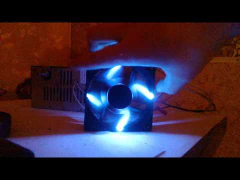 Как сделать кулер с подсветкой