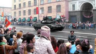 VICTORY PARADE IN MOSCOW 9 MAY 2012