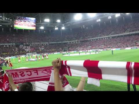 Спартак 1-2 ЦСКА: ГИМН СПАРТАКА
