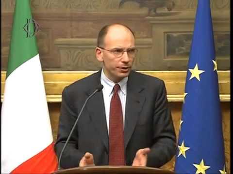 Roma – Consultazioni Enrico Letta (25.04.13)