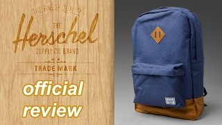 Hershel Supply Co. Heritage Backpack Review