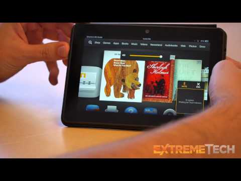 Kindle Fire HDX 7-inch hands-on