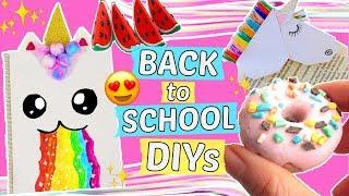 3 coole BACK TO SCHOOL DIYS