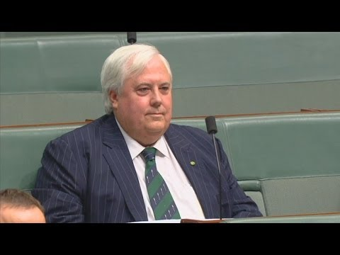 Clive Palmer concerned his phone is bugged