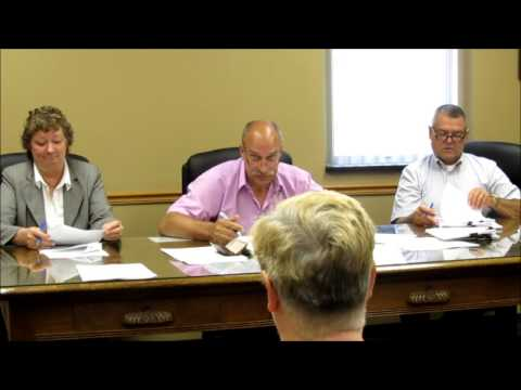 County Commissioners Meeting - 6-10-15