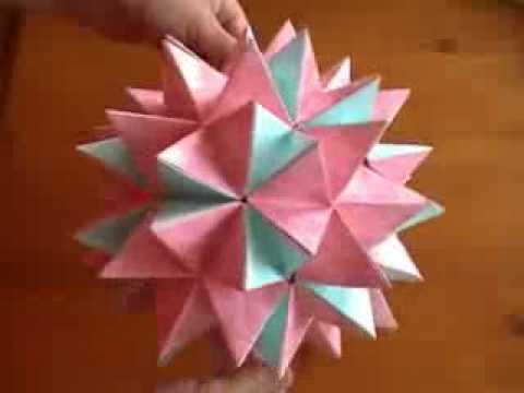 Origami revealed flower popup star youtube psychologyarticlesfo origami revealed flower popup star youtube mightylinksfo