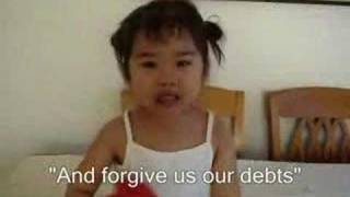 Cute Baby Praying   ( Our Father)