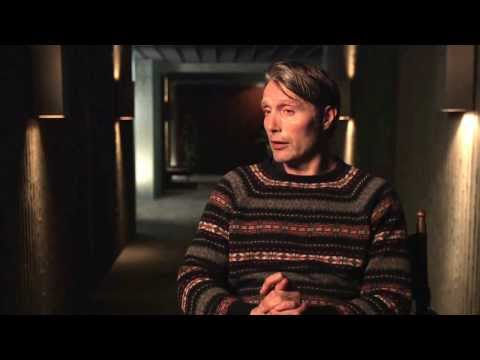 "Hannibal: Mads Mikkelsen ""Dr. Hannibal Lecter"" Season 2 Premiere On Set Interview Part 1 of 2"