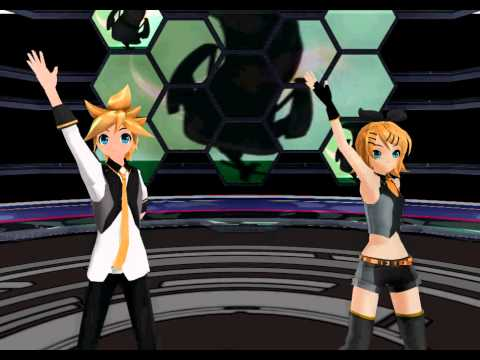 [mmd]【鏡音リンレン】リモコン Remote Control [rin & Len] video