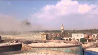 Syrian army attacks in Eastern ghouta, Damascus province 19/10/2015