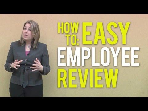 Employee Performance Review - An Easy How-To-Guide