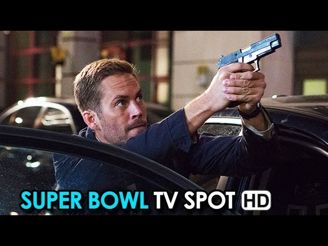 Furious 7 Official Super Bowl TV Spot (2015) - Vin Diesel HD