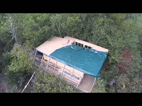 This video is about Three Rivers Duck Club's Tupelo Flats duck blind construction in the L'Anguille River bottoms near Harrisburg, Arkansas. Aerial Update #2! Come see our site at http://threeriver...