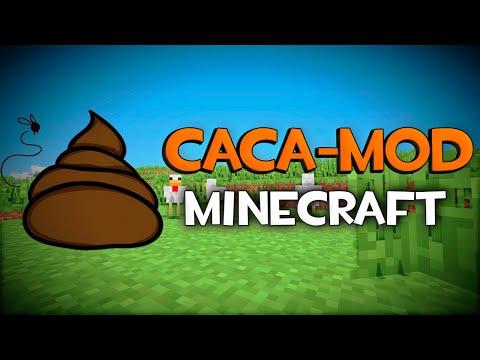 CACA MOD   Minecraft mod 1.5.2. 1.6.4 y 1.7.10 Review ESPAÑOL