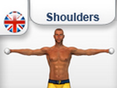 Lateral Raise with dumbbells - shoulder training Image 1