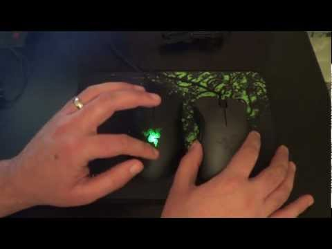 Razer Deathadder Black Edition Essential Ergonomic Gaming Mouse Unboxing