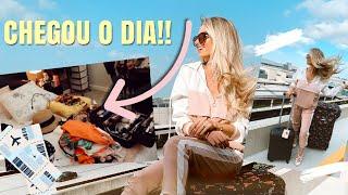 ARRUMANDO AS MALAS PRA ST. MAARTEN! | É HOJE!!🎉❤️