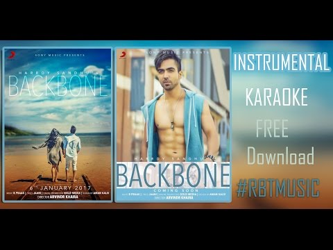 [KARAOKE] Hardy Sandhu - Backbone | Jaani | B Praak |Latest Romantic Song 2017 | INSTRUMENTAL