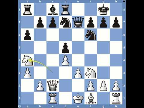 Levon Aronian vs Magnus Carlsen Round 1 - 2013 Candidates Chess Tournament