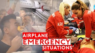 Airplane Emergency Situations - How Cabin Crew Handle It?