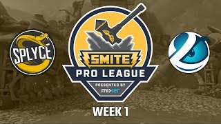 SPL Summer Split 2018 Week 1: Splyce vs. Luminosity (Game 1)