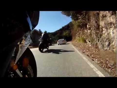 Near Death Experience Close Call Cheating Death Sport Bike Motorcycle