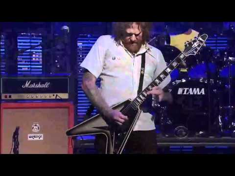 Mastodon - Curl of the burl live at David Letterman