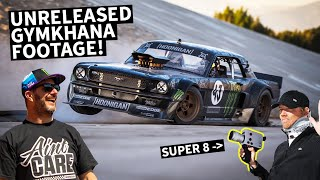 Ken Block's Unreleased Gymkhana SEVEN Footage - Shot in Super 8 Film!!
