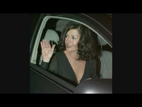 Michael Kirk Douglas and Catherine Zeta-Jones leaving Il Cielo - 021808