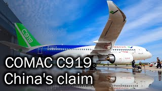 COMAC C919 - Chinese narrow-body twinjet airliner. History and future of the aircraft